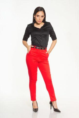 comprar pantalón rojo a la cintura