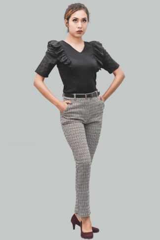 Pantalón cintura diseño C/n