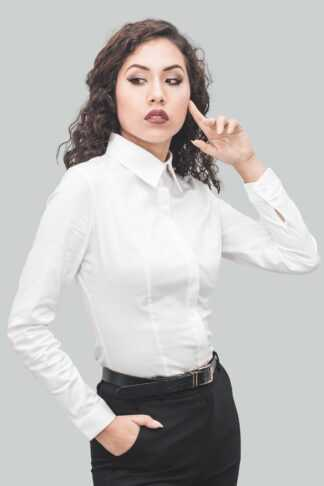 Camisa blanco de mujer Isabel